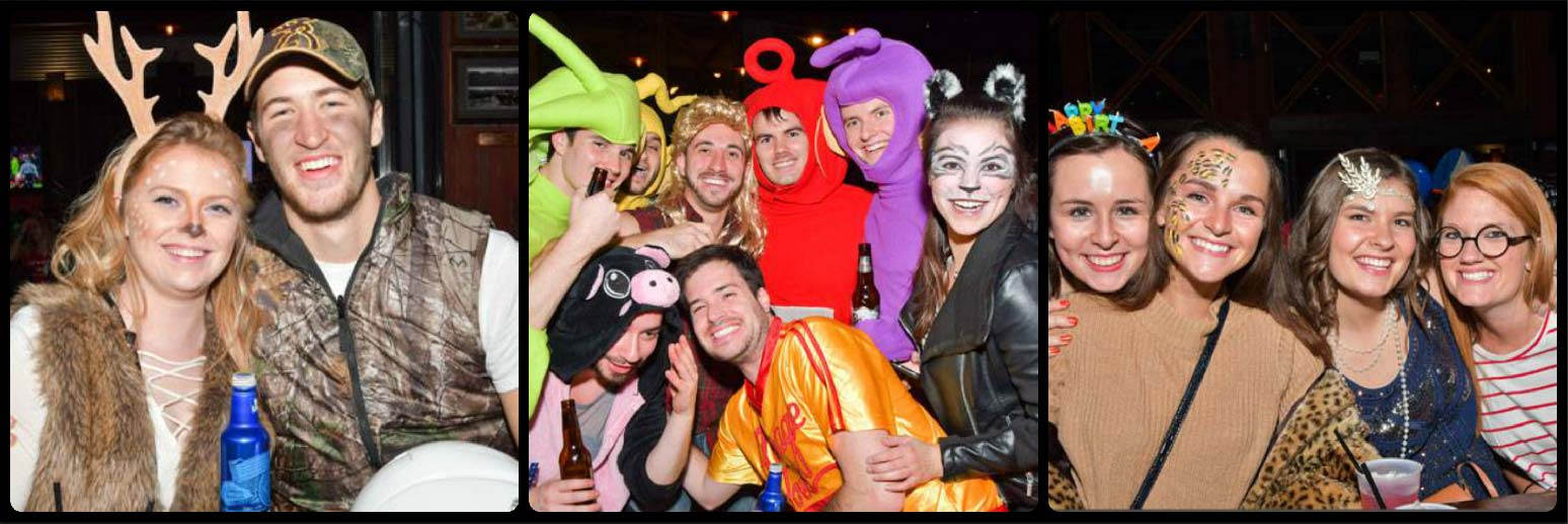 Wrigleyville Halloween Crawl Picture Collage