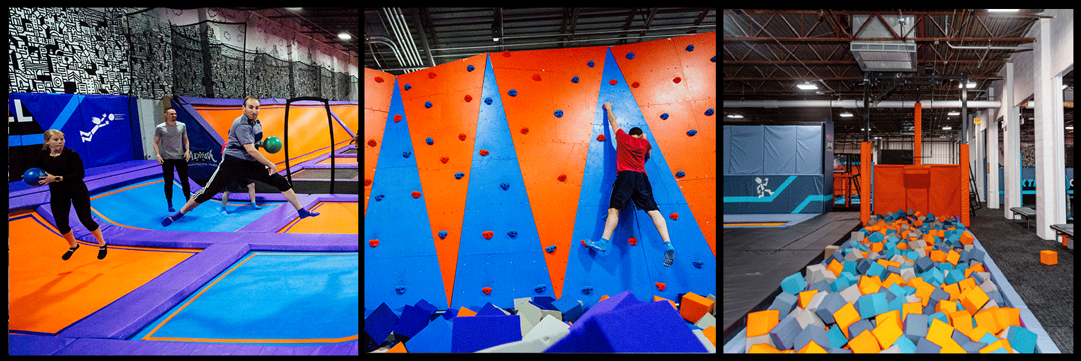 Altitude Trampoline Park Picture Collage