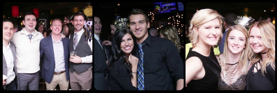 Bar Louie New Year's Eve Pic Collage