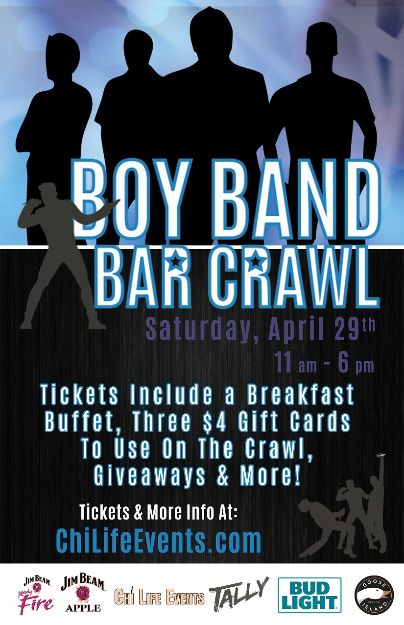 Tickets include a Breakfast Buffet, three $4 Gift Cards to use on the crawl, giveaways & MORE!