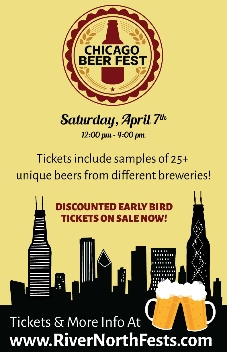 Chicago Beer Fest Party - Enjoy samples from multiple breweries - there will be over 25 different beers to sample!