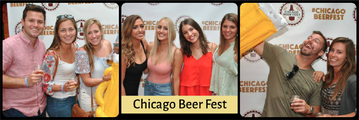 Beer Fest Picture Collage
