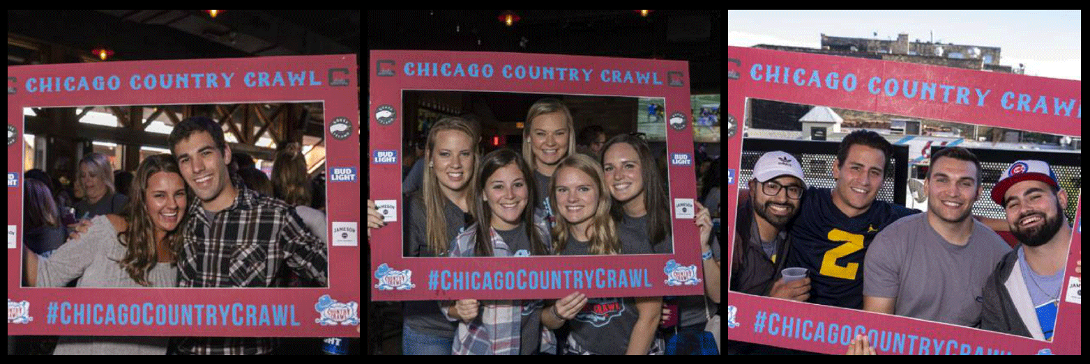 Chicago Country Crawl Picture Collage