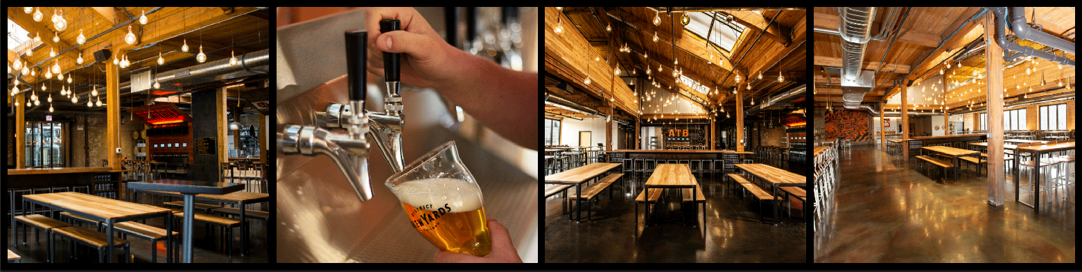District Brew Yards Picture Collage