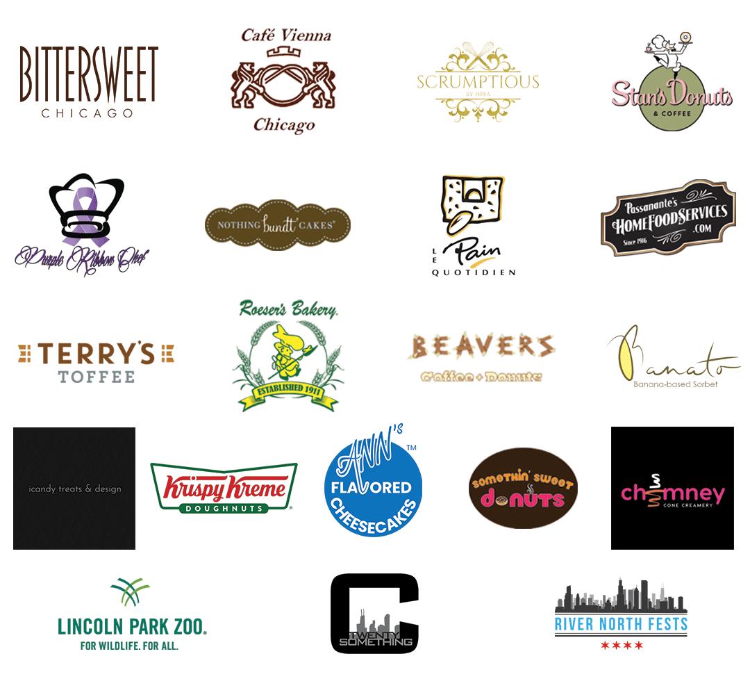 Dessert Fest At The Zoo Vendor Logos
