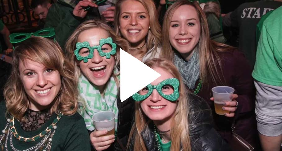 St. Patrick's Day Booze Cruises Video