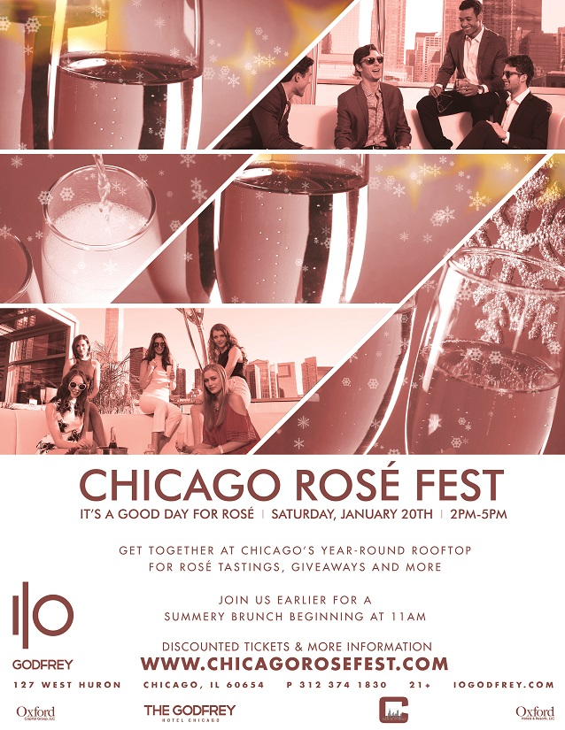 Chicago Rosé Fest - Tickets include Rosé Tastings, Food & Drink Specials, Giveaways & More!