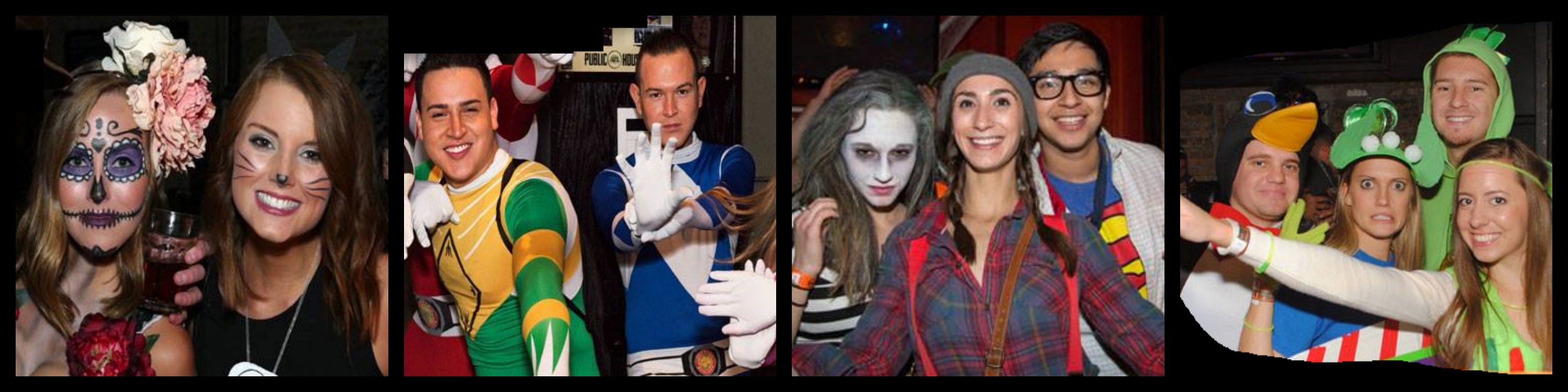 Halloween Booze Cruise Collage