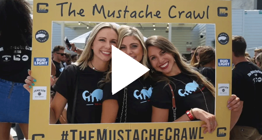 The Mustache Crawl Video Link