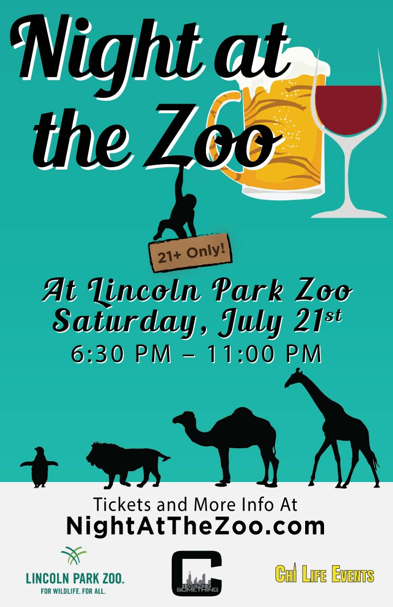 Night at the Zoo Party at Lincoln Park Zoo Chicago - Tickets Include: Admission to the zoo, A Live DJ, Giveaways & More!