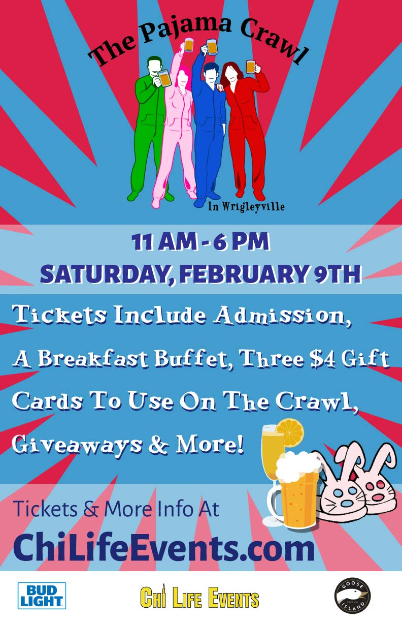 The Pajama Bar Crawl Party - Tickets Include Admission, A Breakfast Buffet, Three $4 Gift Cards To Use On The Crawl, Giveaways & More!