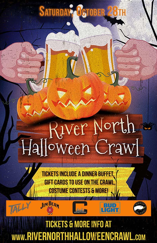 River North Halloween Crawl in Chicago 2017! Tickets, Sat, Oct 28 ...
