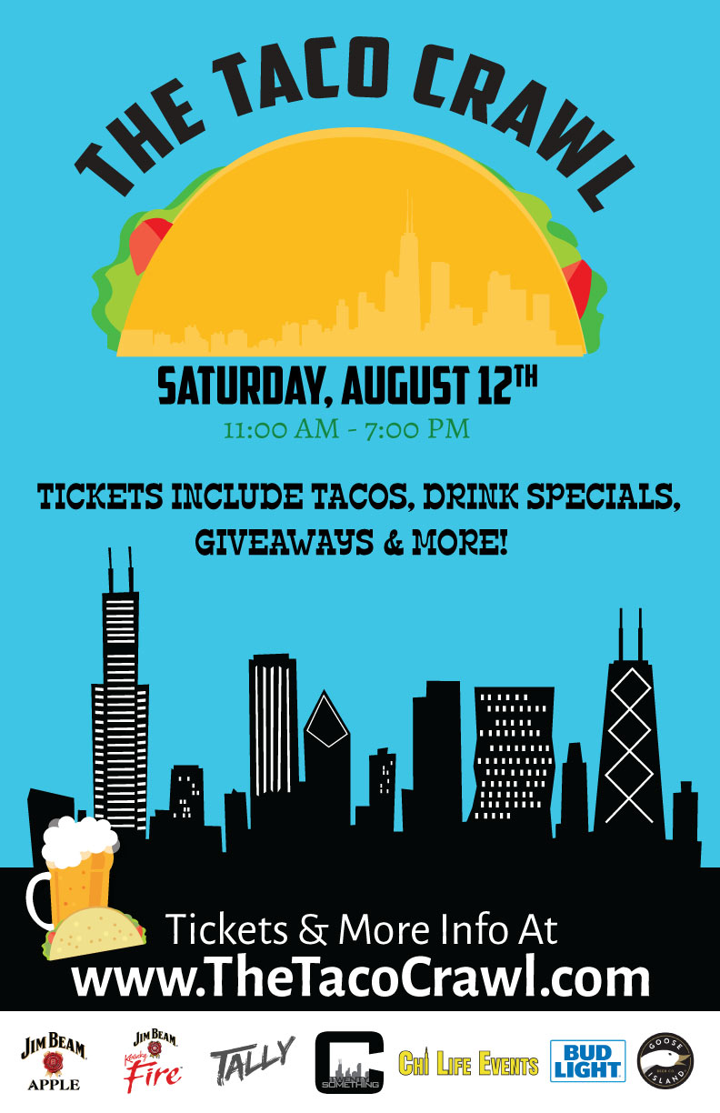 The Taco Crawl - Tickets Include Tacos (One Taco Per Hour), Drink Specials, Giveaways & More!