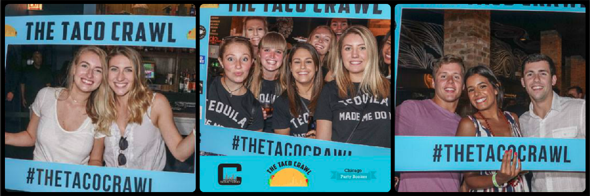 The Taco Crawl Picture Collage