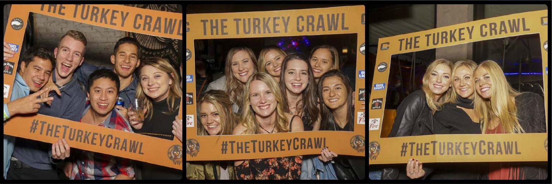 Chicago Turkey Crawl Picture Collage
