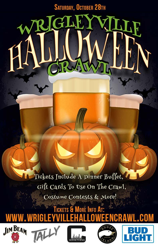 Wrigleyville Halloween Crawl in Chicago 2017! Tickets, Sat, Oct 28 ...