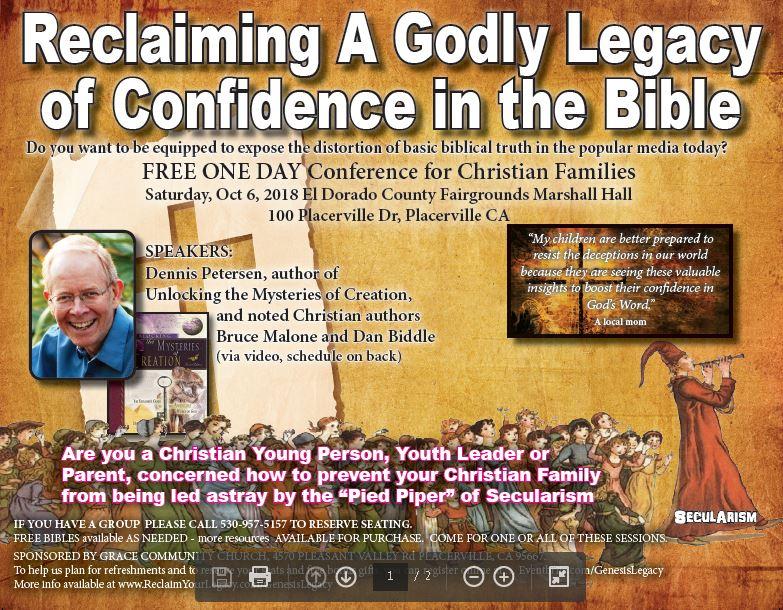 Genesis Legacy Event Banner