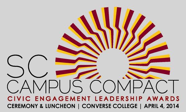 SCCC Civic Engagement Leadership Awards, Converse College, April 4, 2014