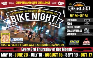 5th Annual Bike Night @Mike's BBQ