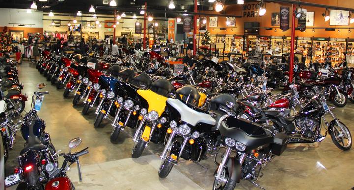 Biggs Harley-Davidson Show room