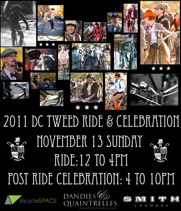 2011 Tweed Ride Poster