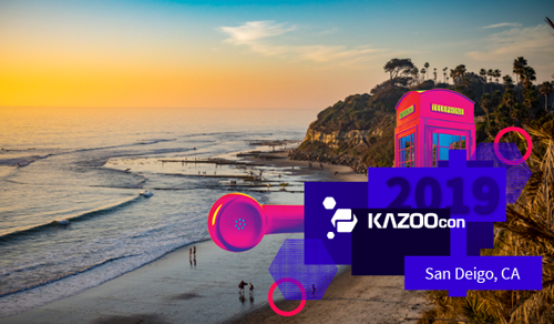 KAZOOcon 2019 Header img