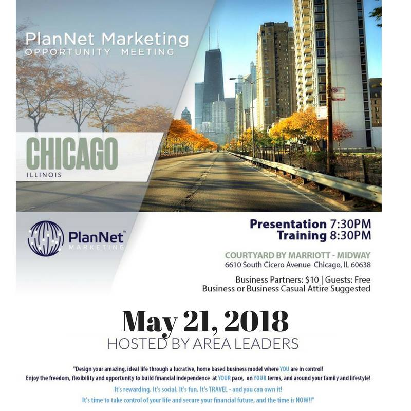 Chicago Opportunity meeting Every 2nd and 4th Tuesday