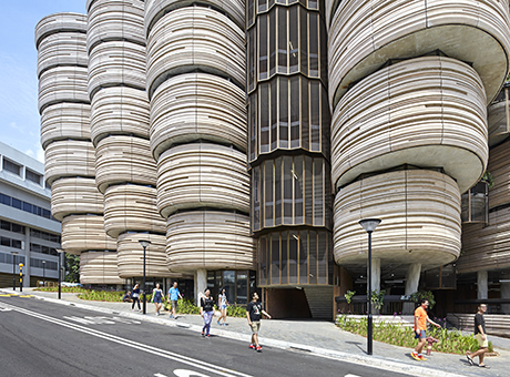 Learning Hub (The Hive), Singapore by Heatherwick Studio