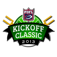 THE OFFICIAL PDFL KICKOFF CLASSIC LOGO
