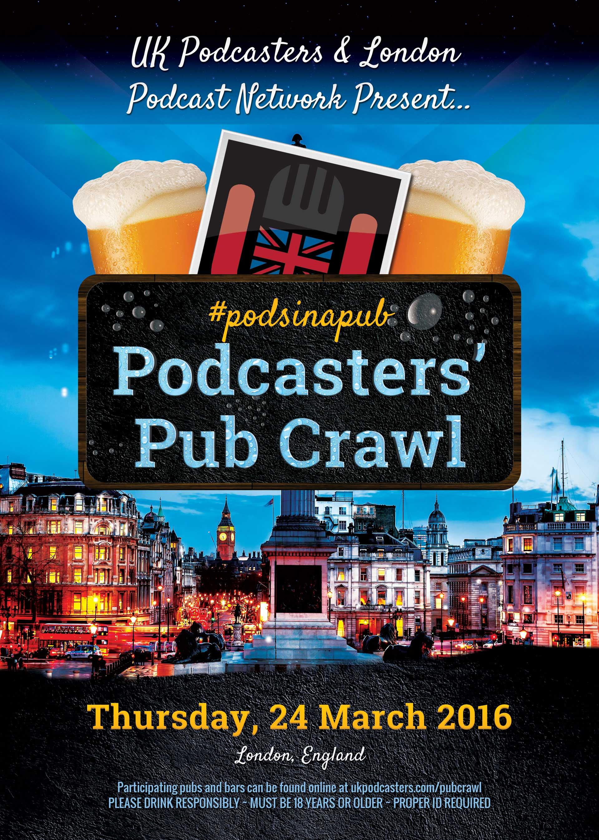 Podcasters' Pub Crawl