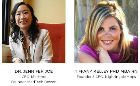 HealthTech Venture Network Speakers: Dr. Jennifer Joe & Tiffany Kelley PhD MBA RN