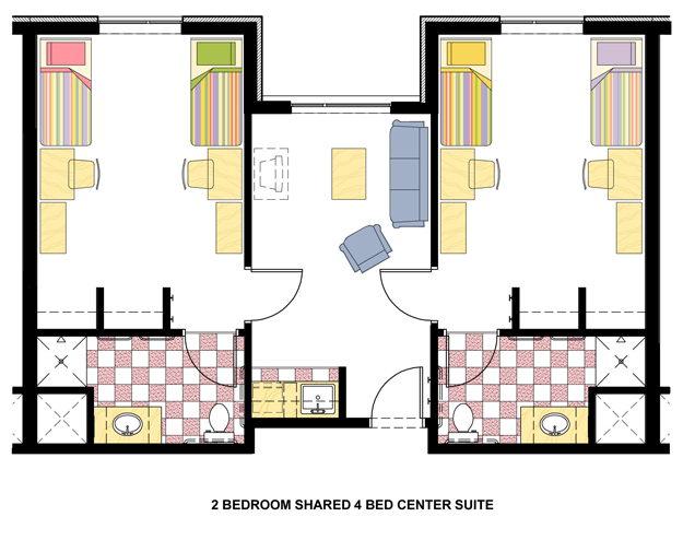 Falcon Heights Living Room Layout