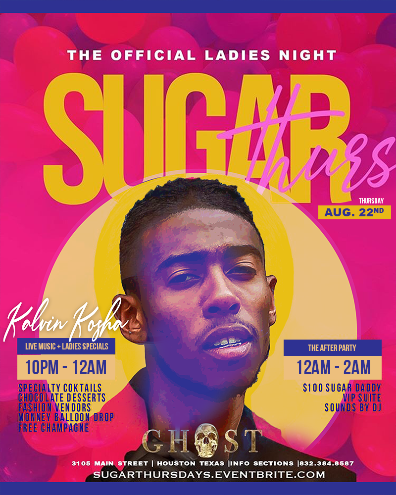 Sugar Thursday Kosha at Ghost Bar