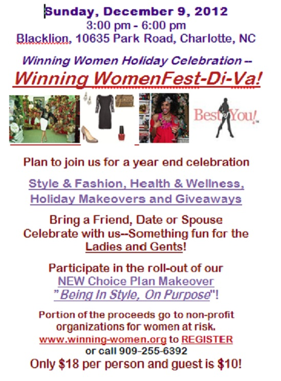 Winning-Women Holiday Fest DI-VA!