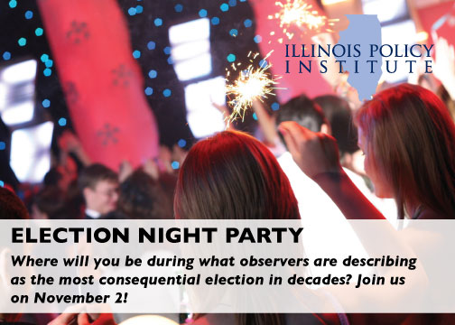 Election Party card front