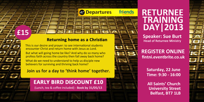 Returnee Training Day - It is all about discipleship