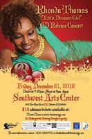 "Rhonda Thomas ""Little Drummer Girl"" Christmas CD Release..."