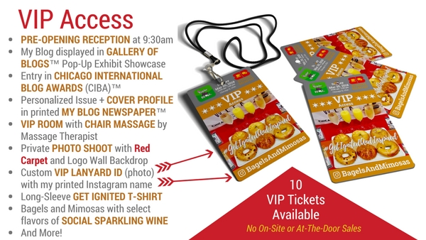 Get My VIP Access Ticket for Bloggers Breakfast Chicago March 25, 2018