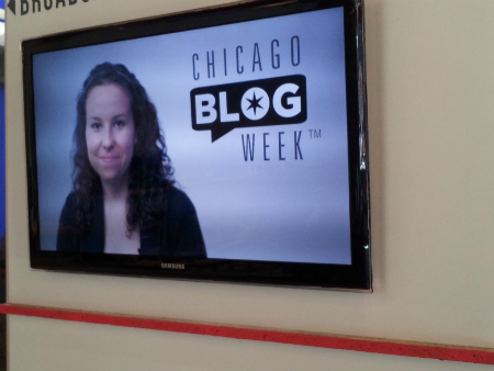 Melissa Miller, host and director, Chicago Blog Week Television