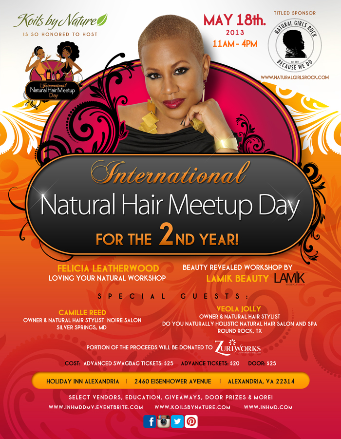 International Natural Hair Meetup Day DMV 2013