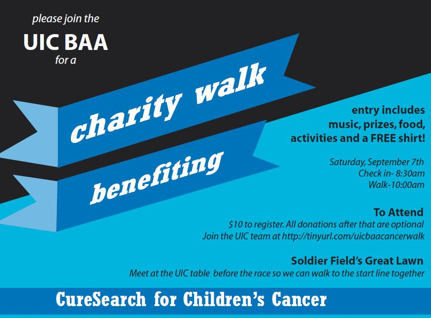 BAA Cancer Walk