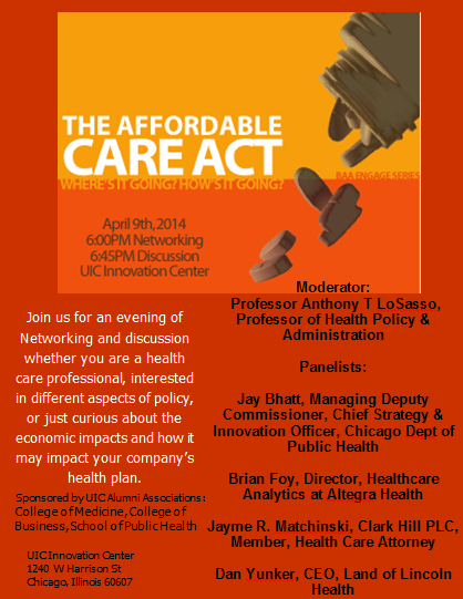 Engage: The Affordable Care Act