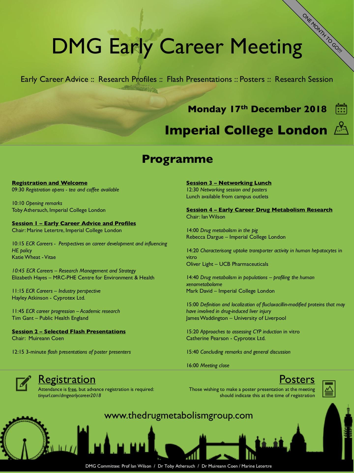 DMG ECR Meeting Programme