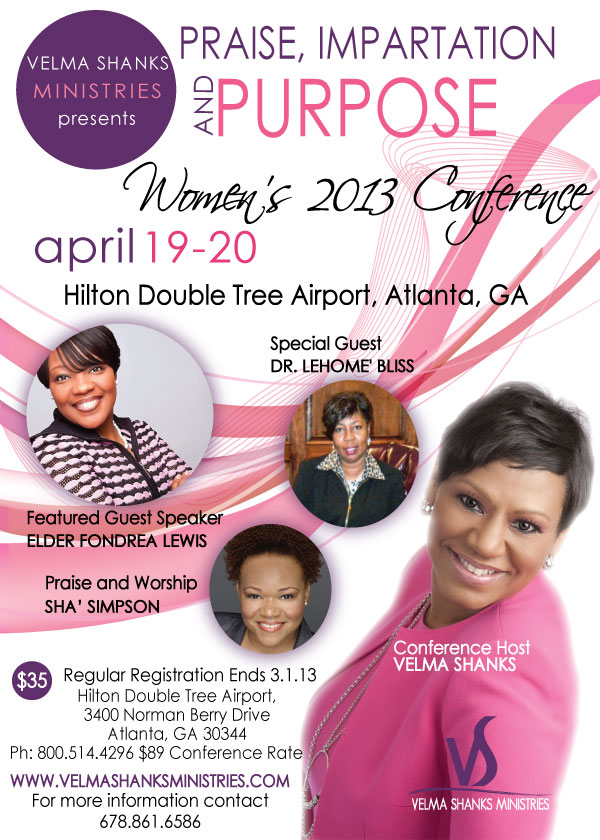 VSM WOMEN'S 2013 CONFERENCE REGISTRATION