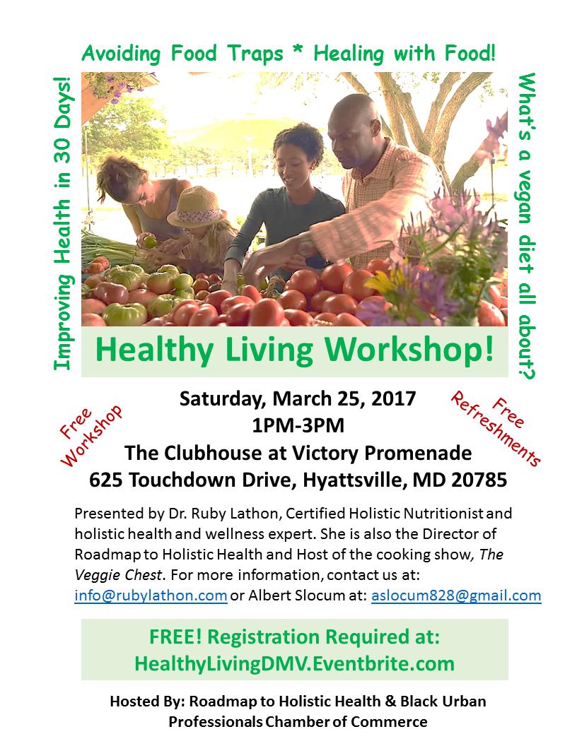 healthy lifestyles workshop
