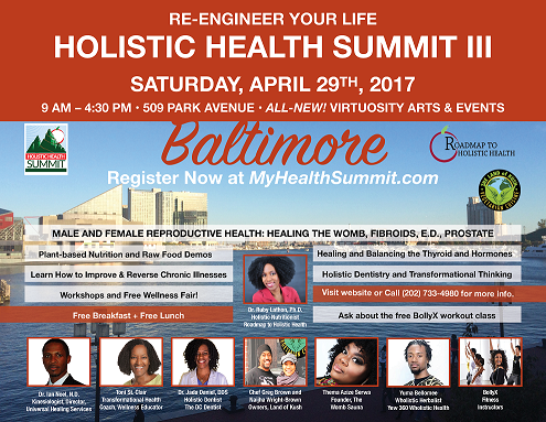 Baltimore 2017 Re-Engineer Your Life Holistic Health Summit!