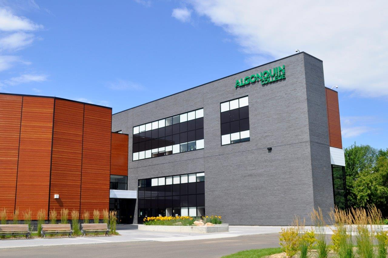 Algonquin Campus entrance in spring