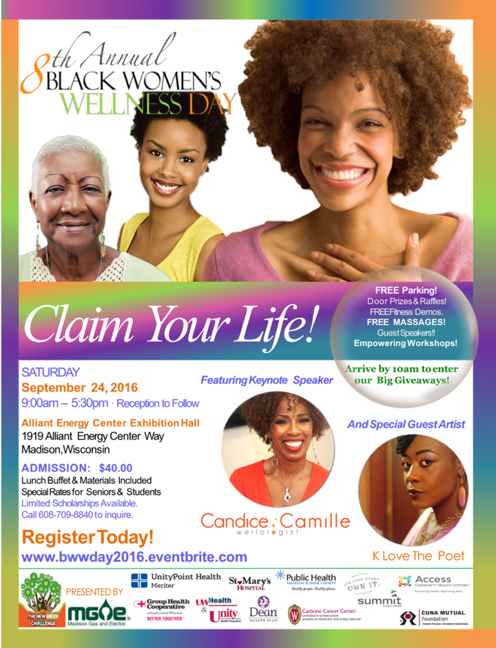 BWWDAY 2016 Flyer with Smiling Women different ages