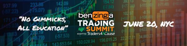 Benzinga Trading Summit Header