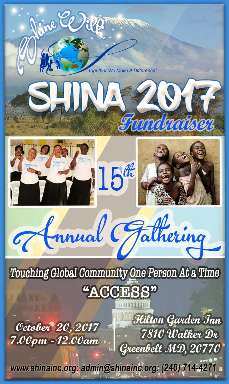 Flyer for Fundraiser